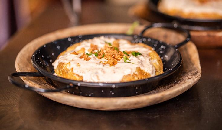 Tortilla patatas y cebolla